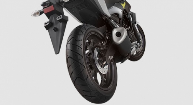 Wide Tubeless Tire