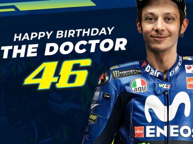 Selamat Ulang Tahun ke-39 Valentino Rossi !