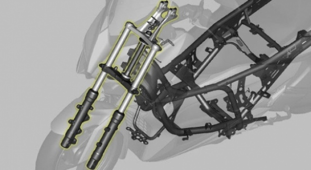 Sport Motorcycle Type Front Suspension